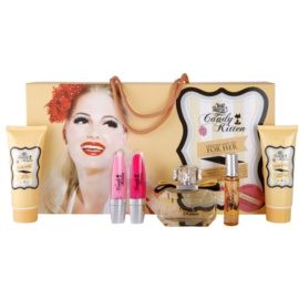 Candy Kitten Sunset coffret II. Eau de Toilette 100 ml + gel de duche 100 ml + leite corporal 100 ml + gloss 5 ml + gloss 5 ml