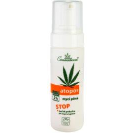 Cannaderm Atopos espuma limpiadora  para pieles secas  180 ml