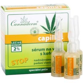 Cannaderm Capillus hajszérum koffeinnel  8 x 5 ml