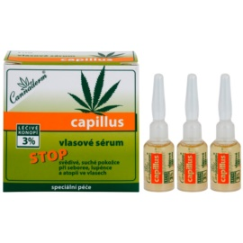 Cannaderm Capillus vlasové sérum  8 x 5 ml
