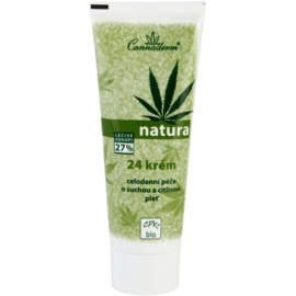 Cannaderm Natura crema para pieles secas y sensibles  75 g