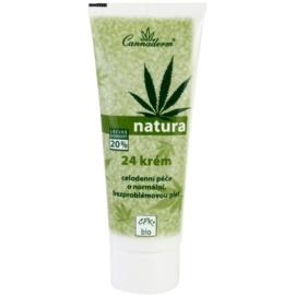 Cannaderm Natura krém pre normálnu pleť  75 g