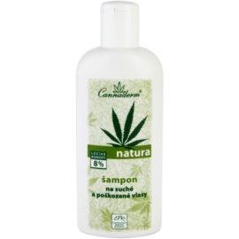 Cannaderm Natura šampon pro suché a poškozené vlasy  200 ml