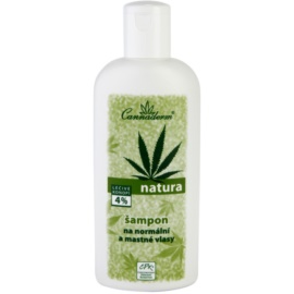 Cannaderm Natura champú para el cabello normal hasta graso  200 ml