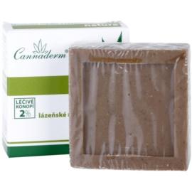 Cannaderm Natura gyógyfürdős szappan tőzeggel  80 g