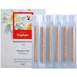 Caption Mandarin Tea illatos pálcák 6 db autóba