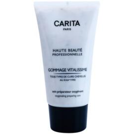 Carita Haute Beauté Professionnelle peeling a hajra a száraz fejbőr és a korpa eltávolítására  150 ml