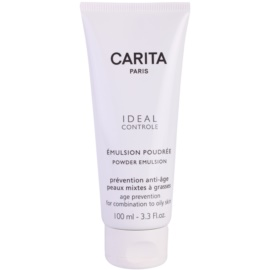 Carita Ideal Controle Emulsion Powder-Effect for Combiantion and Oily Skin  100 ml