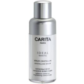 Carita Ideal White серум за лице, намаляващ признаците на стареене против пигментни петна  30 мл.