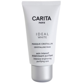Carita Ideal White Whitening Facial Mask To Treat Pigment Spots  50 ml