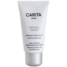 Carita Ideal White rozjasňující pleťová maska proti pigmentovým skvrnám  50 ml