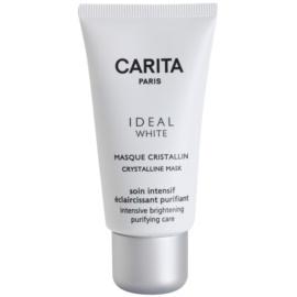 Carita Ideal White masca pentru albirea tenului impotriva petelor  50 ml