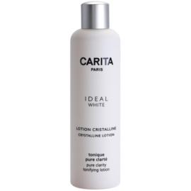 Carita Ideal White reinigendes Gesichtswasser zur Verjüngung der Gesichtshaut  200 ml