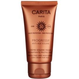 Carita Progressif Anti-Age Solaire crema hidratante protectora SPF 30  50 ml