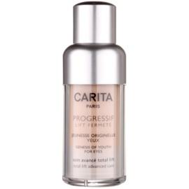 Carita Progressif Lift Fermeté gel za predel okoli oči proti gubam, zabuhlosti in temnim kolobarjem  15 ml