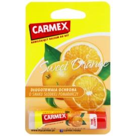 Carmex Sweet Orange feuchtigkeitsspendender Balsam-Stick für die Lippen  4,25 g