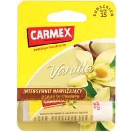 Carmex Vanilla hydratační balzám na rty v tyčince SPF 15  4,25 g