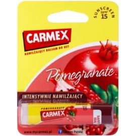 Carmex Pomegranate vlažilni balzam za ustnice v paličici SPF 15  4,25 g