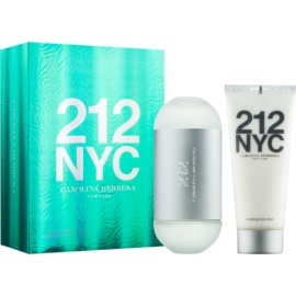 Carolina Herrera 212 NYC ajándékszett IX.  Eau de Toilette 100 ml + testápoló tej 100 ml