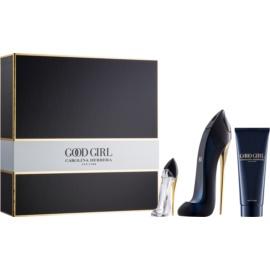 Carolina Herrera Good Girl zestaw upominkowy III.  woda perfumowana 50 ml + woda perfumowana 7 ml + mleczko do ciała 75 ml