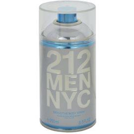 Carolina Herrera 212 NYC Men testápoló spray férfiaknak 250 ml