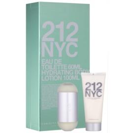Carolina Herrera 212 NYC darčeková sada III.  toaletná voda 60 ml + telové mlieko 100 ml