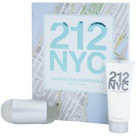 Carolina Herrera 212 NYC dárková sada X. toaletní voda 60 ml + tělové mléko 100 ml