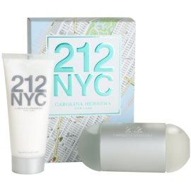 Carolina Herrera 212 NYC dárková sada XIII. toaletní voda 100 ml + tělové mléko 100 ml
