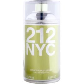 Carolina Herrera 212 NYC Körperspray für Damen 250 ml