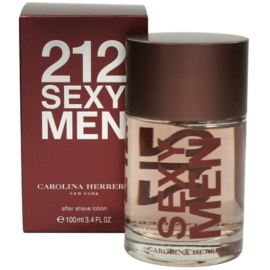 Carolina Herrera 212 Sexy Men After Shave für Herren 100 ml
