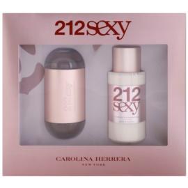 Carolina Herrera 212 Sexy dárková sada I. parfémovaná voda 100 ml + tělové mléko 200 ml