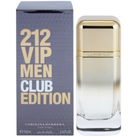 Carolina Herrera 212 VIP Men Club Edition Eau de Toilette für Herren 100 ml