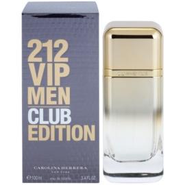 Carolina Herrera 212 VIP Men Club Edition toaletna voda za moške 100 ml