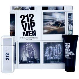 Carolina Herrera 212 VIP Men zestaw upominkowy IX. woda toaletowa 100 ml + żel pod prysznic 100 ml