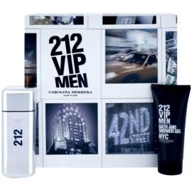 Carolina Herrera 212 VIP Men подарунковий набір ІХ  Туалетна вода 100 ml + Гель для душу 100 ml