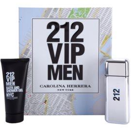 Carolina Herrera 212 VIP Men darčeková sada II. toaletná voda 100 ml + sprchový gel 100 ml