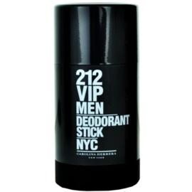 Carolina Herrera 212 VIP Men Deo-Stick für Herren 75 ml
