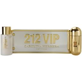 Carolina Herrera 212 VIP dárková sada I. parfémovaná voda 80 ml + tělové mléko 200 ml