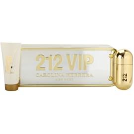 Carolina Herrera 212 VIP darilni set II. parfumska voda 50 ml + losjon za telo 100 ml
