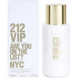 Carolina Herrera 212 VIP tělové mléko pro ženy 200 ml