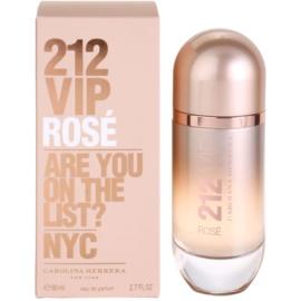 Carolina Herrera 212 VIP Rose Eau de Parfum für Damen 80 ml
