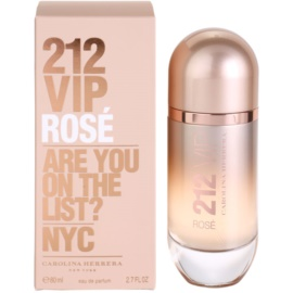 Carolina Herrera 212 VIP Rose Eau de Parfum für Damen 80 ml