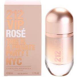 Carolina Herrera 212 VIP Rose parfémovaná voda pro ženy 50 ml