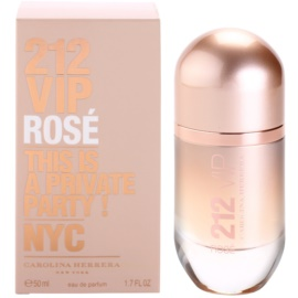 Carolina Herrera 212 VIP Rose Eau de Parfum für Damen 50 ml