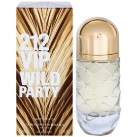 Carolina Herrera 212 VIP Wild Party Eau de Toilette für Damen 80 ml