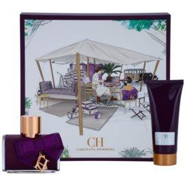 Carolina Herrera CH Eau de Parfum Sublime ajándékszett I.  Eau de Parfum 80 ml + testápoló tej 100 ml