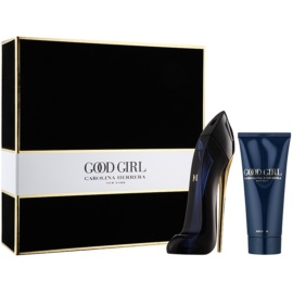 Carolina Herrera Good Girl zestaw upominkowy I.  woda perfumowana 50 ml + mleczko do ciała 75 ml