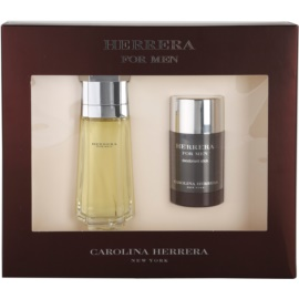 Carolina Herrera Herrera For Men coffret III. Eau de Toilette 100 ml + deo stick 75 ml