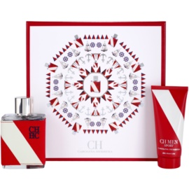 Carolina Herrera CH CH Men Sport Geschenkset II. Eau de Toilette 100 ml + After Shave Balsam 100 ml
