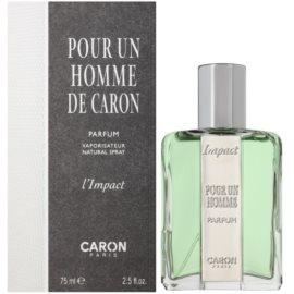 Caron Impact Pour un Homme Parfüm Extrakt für Herren 75 ml